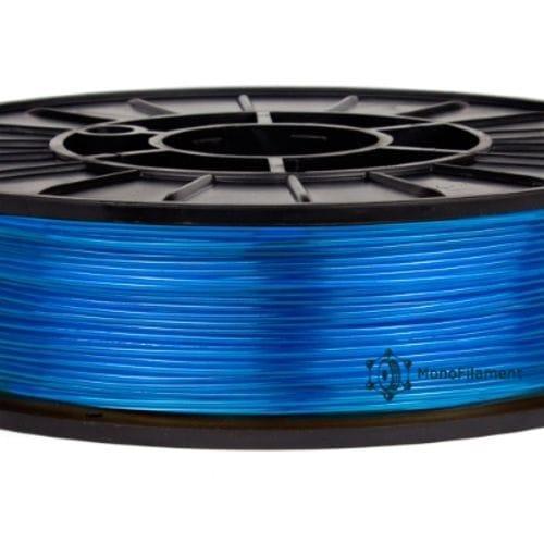 COPET (PETT, PETG) пластик синій напівпрозорий (MonoFilament)