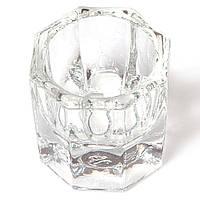 Стеклянный стаканчик для мономера, краски, разведения хны