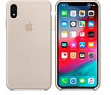Силиконовый чехол для iPhone XR, цвет «бежевый», фото 2