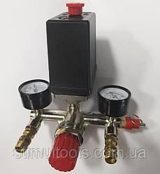 Автоматика (пресостат) в зборі для компресора 220 в