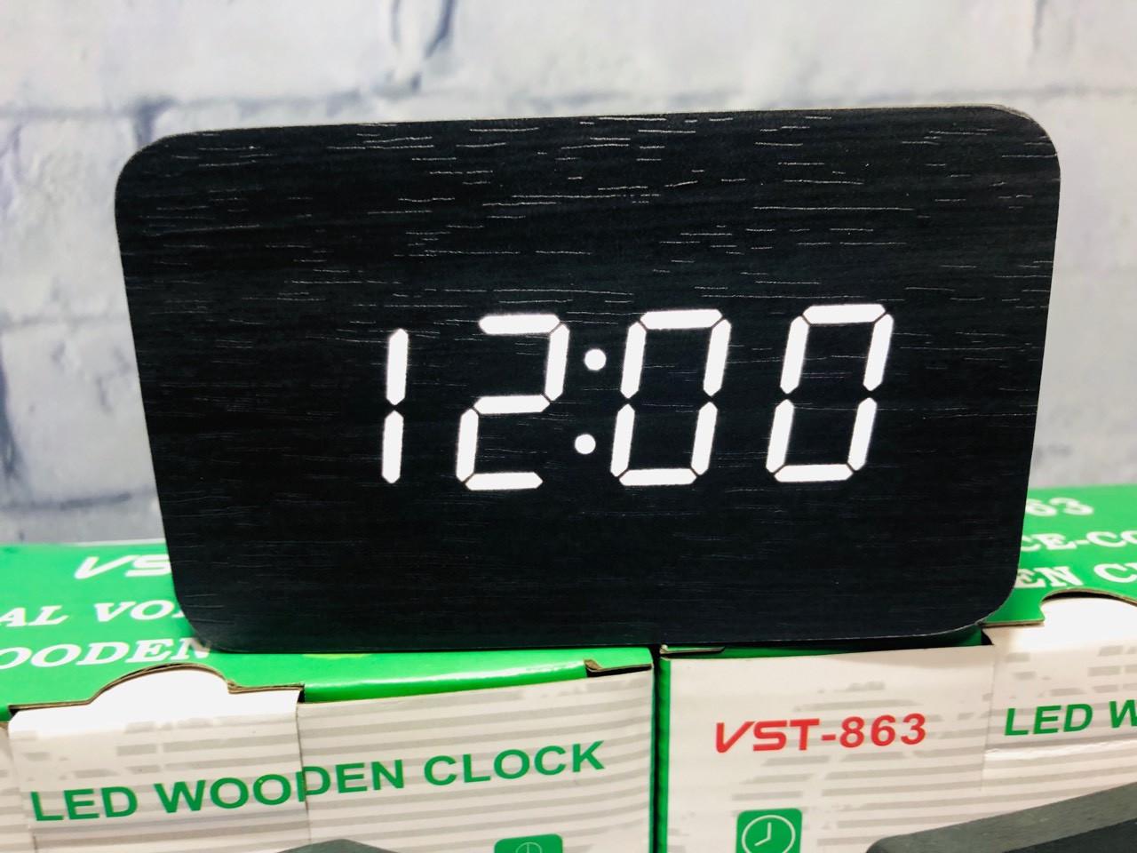 Часы настольные электронные  VST 863