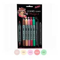 Набор маркеров Copic Ciao Set 5+1 Manga 3 (22075558)