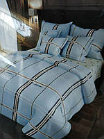 Комплект постельного белья в клетку