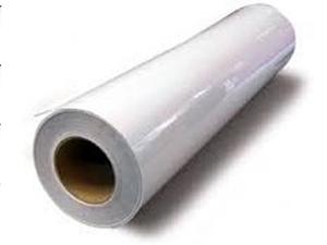 Глянцева плівка для ламінації MF-PVC Gloss Film 1,27х150м