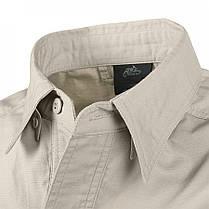 Рубашка Defender Mk2 с д/рукавами - PolyCotton Ripstop - черная, фото 2