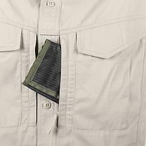 Рубашка Defender Mk2 с д/рукавами - PolyCotton Ripstop - черная, фото 3
