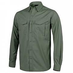 Рубашка Defender Mk2 с д/рукавами - PolyCotton Ripstop - Olive