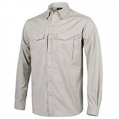 Рубашка Defender Mk2 с д/рукавами - PolyCotton Ripstop - Khaki
