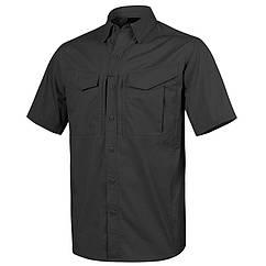 Рубашка Defender Mk2 с к/рукавами - PolyCotton Ripstop - Black