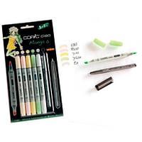 Набір маркерів Copic Ciao Set 5+1 Manga 6 (22075563)