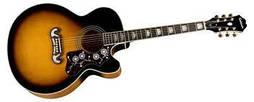 Электроакустическая гитара Epiphone EJ-200CE VS