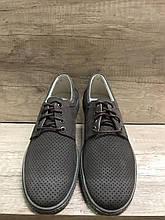Туфли летние из натурального нубука МИДА 13339
