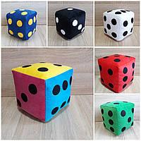 Мягкая игрушка Кубик игральная кость 32 см