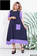 Платье женское, летнее, размер:48-58, фото 2