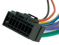 Разъем для магнитолы Sony 16-pin (22х10 mm)(без ISO), фото 1