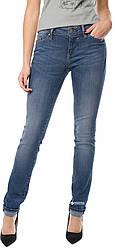 Джинсы женские синие Jasmin Slim от Mustang jeans в размере W28/L32