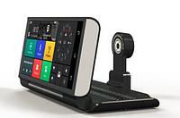 """Видеорегистратор DVR 8620 4G Android 5.1 GPS навигатор HD1080p автопланшет 7"""" 2 камеры"""