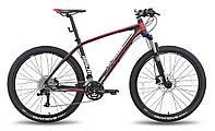 """Велосипед 27,5'' PRIDE XC-650 PRO 1.0 рама - 17"""" черно-красный матовый 2015"""
