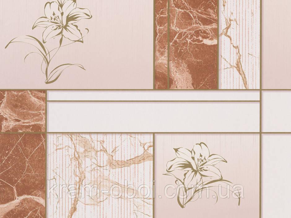 Шпалери КФТБ прості паперові миються 10 м*0,53 9В56 Малахіт 6557-02
