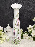 Винтажная фарфоровая ваза, фарфор, Tirschenreuth, Германия, Бавария, 1994 год , фото 1