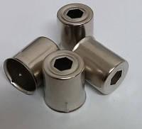 Колпачок магнетрона металлический для магнетроновSamsung  диаметр 14,3 L 17.5 мм(02358)