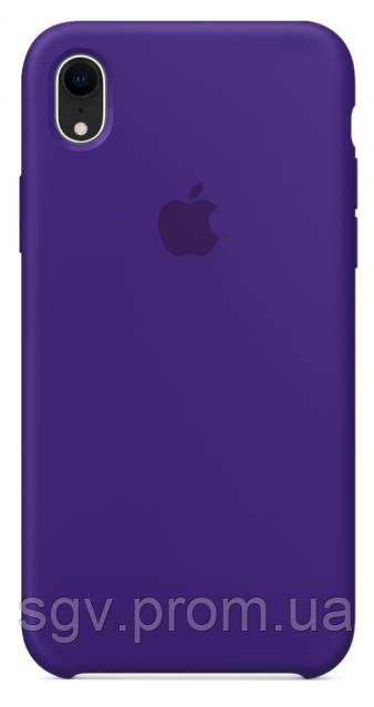 Силиконовый чехол для iPhone XR, цвет «фиолетовый»