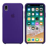 Силиконовый чехол для iPhone XR, цвет «фиолетовый», фото 2