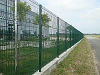 Забор из сварных проволочных панелей
