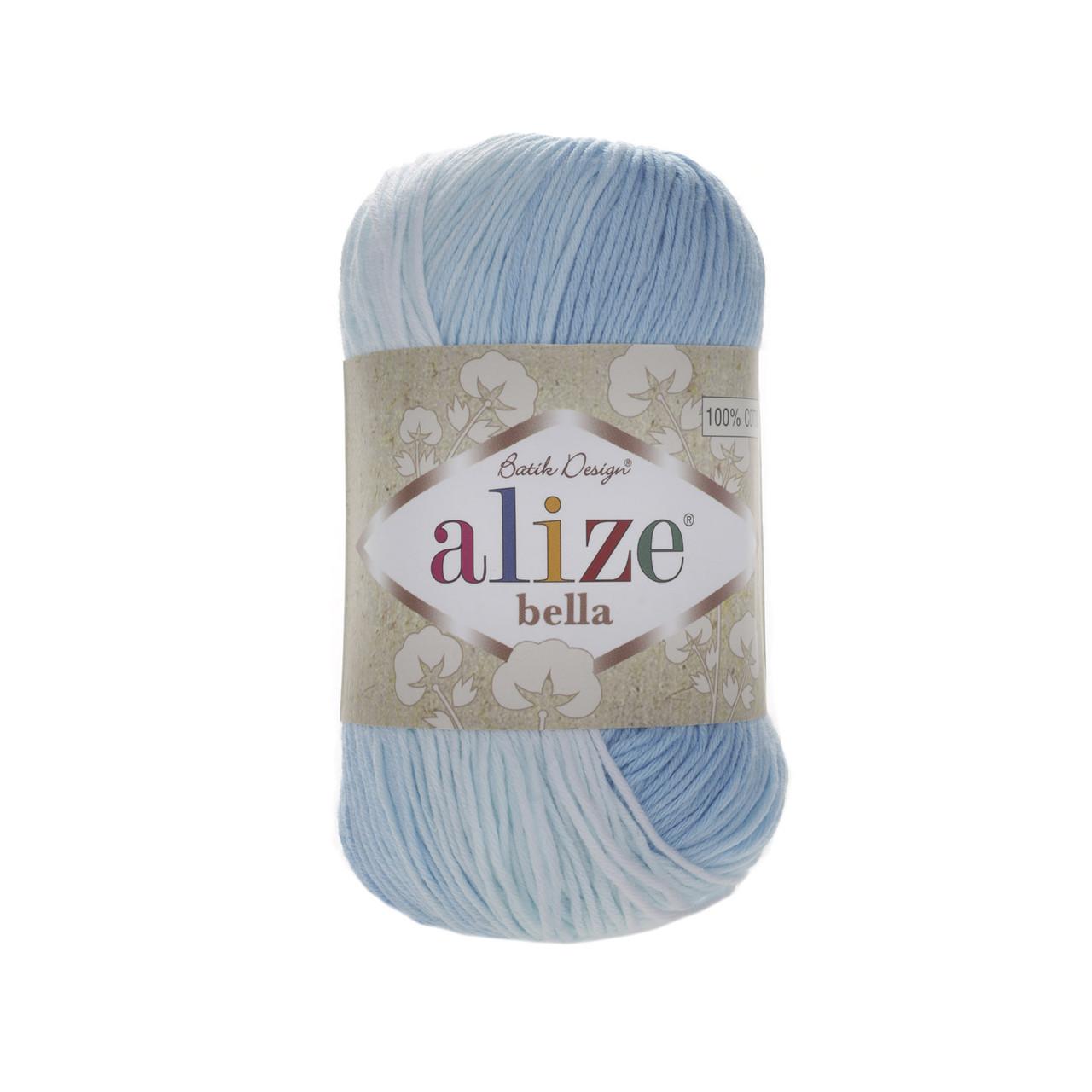Пряжа хлопковая Alize Bella Batik 2130
