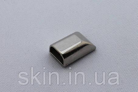 Наконечник для молнии, цвет - никель, артикул СК 5138, фото 2