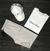 Мужской летний костюм Calvin Klein (Кэлвин Кляйн) комплект 3 в 1