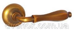 Ручки дверные AF-58116 (MAC Кофе)