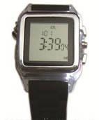 Персональный алкотестер часы AAT 188-LC с LCD дисплеем,термометром и памятью