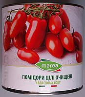 Помідори цілі очищені Marea у власному соку (Whole Peeled Tomatoes) Пелаті 2500 г
