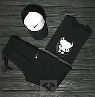 Мужской летний костюм Nike (Найк) комплект 3 в 1