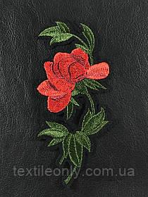 Нашивка Роза левая 62x130 мм