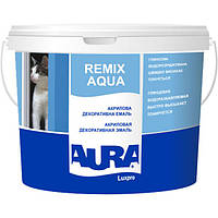 Эмаль акриловая Aura Luxpro Remix Aqua (белая), 2.5 л
