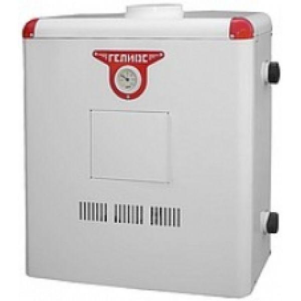 Газовый котел Гелиос АОГВ 10ДУ Напольный газовый котел одноконтурный дымоходный 10 кВт