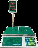 Весы торговые Днепровес ВТД-ЛД (6 кг, 15 кг, 30 кг)
