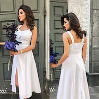 2700a0ba0c6 Белое летнее платье в Украине. Сравнить цены