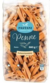 Макаронные изделия Pastani Pelnoziarnisty перо 500 г