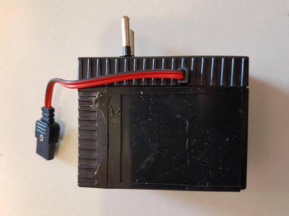 Акумулятор для мегафона рупора гучномовця 6В з вбудованим зарядним пристроєм від мережі 220В, фото 2