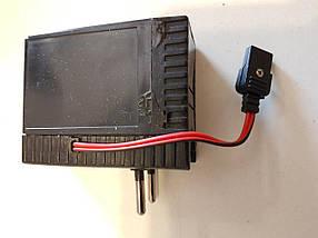 Акумулятор для мегафона рупора гучномовця 6В з вбудованим зарядним пристроєм від мережі 220В, фото 3