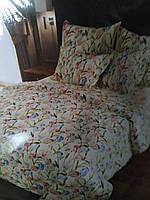 Постельное белье с цветочным принтом размеры полуторка, двухспальный и евроразмер