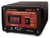 Автоматическое пуско-зарядное устройство Master Watt 12/24V 30A для авто и мото АКБ