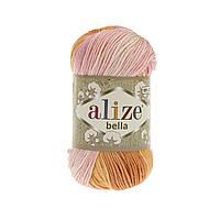 Пряжа хлопковая Alize Bella Batik 6789