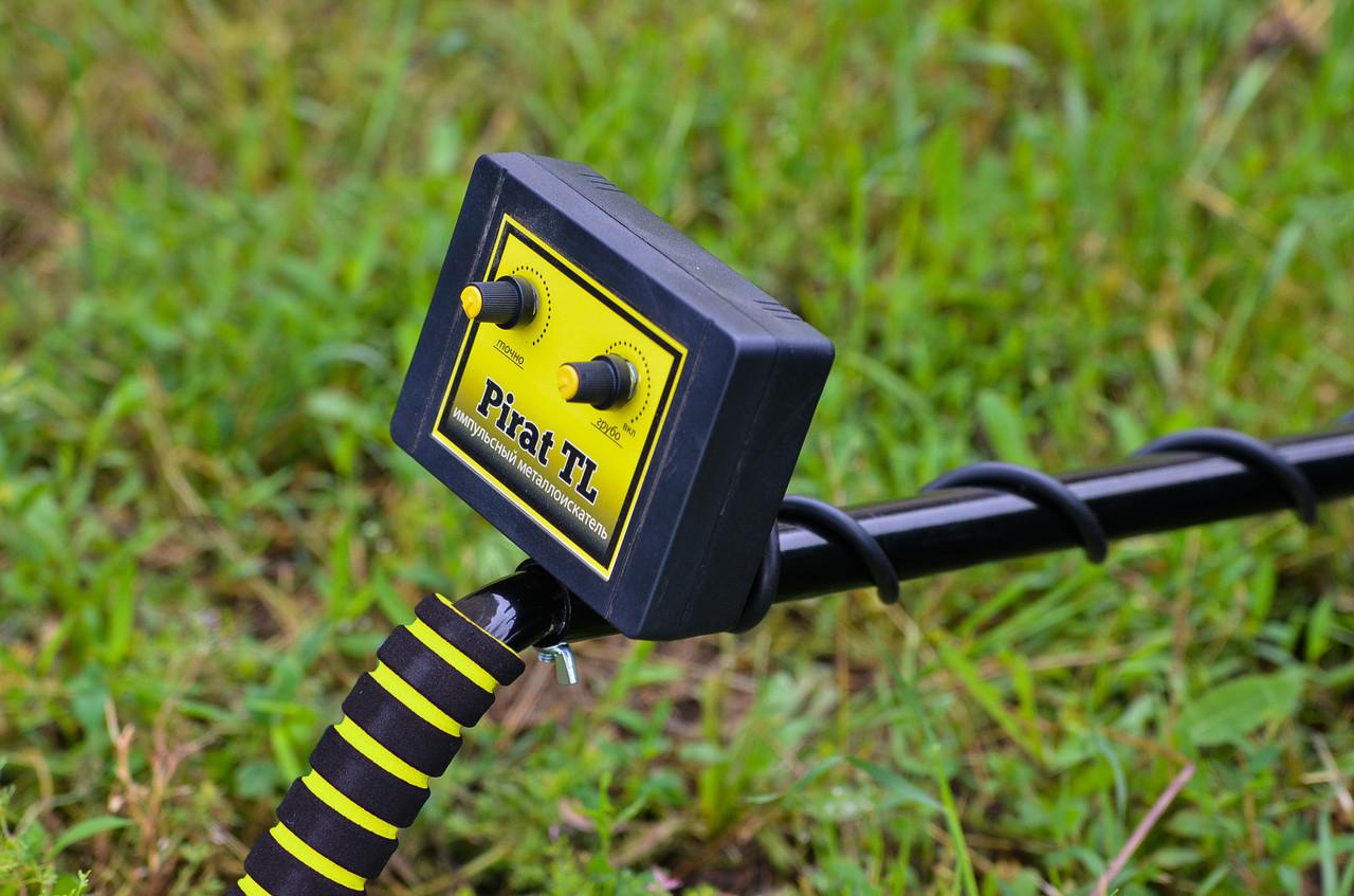 Металлоискатель Pirat TL импульсный с глубинной катушкой до 3 м