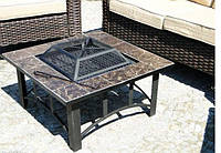 Костровой стол с чашей 4 в 1