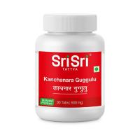 Канчнар Гуггул- 500 мг.  Шри Шри Аюрведа | Sri Sri Tattva Kanchanara Guggulu/ 30  таб.