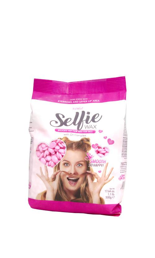 ItalWax Горячий пленочный воск для лица в гранулах Selfie Hot Film Wax For Depilation